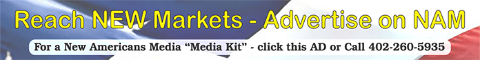 New American Media Banner ad for Advertising on the website