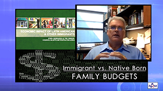 Stocking up for a winter with Covid-19: Immigrant vs. Native Born family budgets