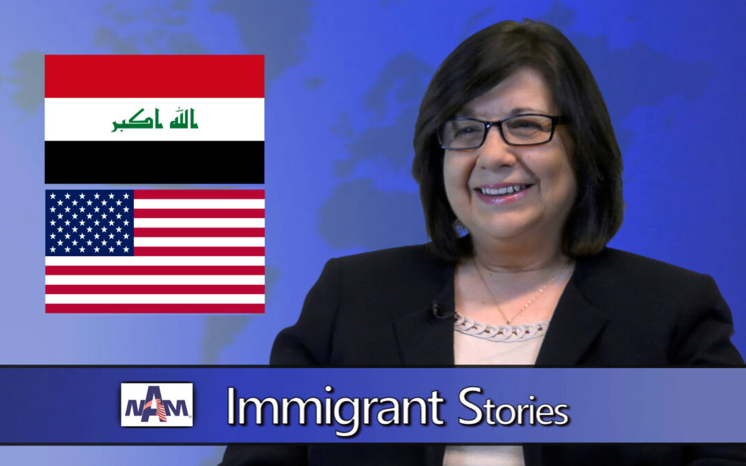 The Kismet of Life: Daughter of former Iraqi diplomat came to U.S.A. as refugee; today she helps those in need