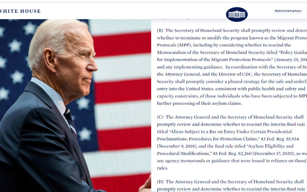 U.S. Immigration Act of 2021: Biden's proposal to overhaul the immigration system