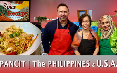 Chicken Pancit, Soy Sauce and The Philippines on Spice & Recipe