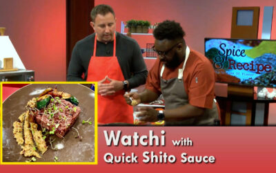 Watchi with Shito Sauce, Yaji Seasoning and West Africa on Spice & Recipe