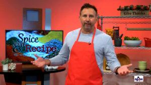 Mike DiGiacomo, the host of Spice and Recipe: The Origins of Flavor